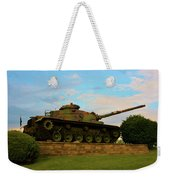 World War Two Tank Weekender Tote Bag
