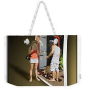 Worlds Apart Weekender Tote Bag by Brian Wallace