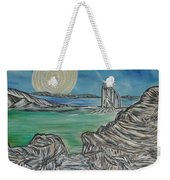 Worlds Away Weekender Tote Bag