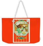 World's Best Baker Weekender Tote Bag