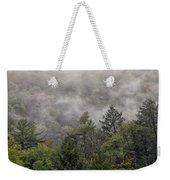 Worlds End State Park Fog Weekender Tote Bag