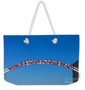 World's Most Famous Beach Weekender Tote Bag