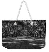 Wormsloe Plantation 2 Live Oak Avenue Art Weekender Tote Bag
