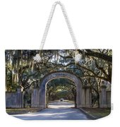 Wormsloe Gates Weekender Tote Bag