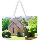 Worship In Wollombi Weekender Tote Bag