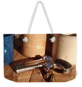 Would You Like A Little Pistol With Your Coffee Weekender Tote Bag
