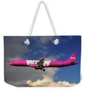 Wow Air Airbus A321-211 Weekender Tote Bag