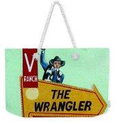 Wrangler Motel Weekender Tote Bag