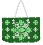 Wrapping Wallpaper Floral Seamless Tile For Website Vector, Repeating Foliage Outline Floral Western Weekender Tote Bag