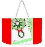 Wreath Weekender Tote Bag