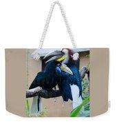 Wreathed Hornbills Weekender Tote Bag