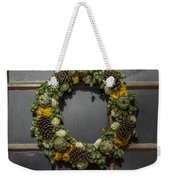 Williamsburg Wreath 21b Weekender Tote Bag