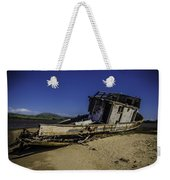 Wrecked On A Sand Bar Weekender Tote Bag
