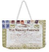 Wright Brothers, 1915 Weekender Tote Bag