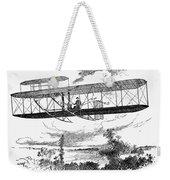 Wright Brothers Plane Weekender Tote Bag