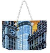 Wrigley Building And Trump Tower Dsc0540 Weekender Tote Bag