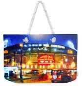 Wrigley Field Home Of Chicago Cubs Weekender Tote Bag