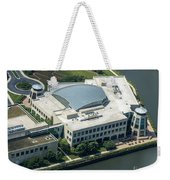 Wrigley Global Innovation Center In Chicago Aerial Photo Weekender Tote Bag