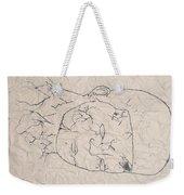 Wrinkled Masterpiece  Weekender Tote Bag
