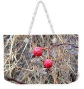 Wrinkled Wild Rose Hips Weekender Tote Bag