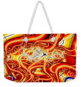 Writhing Orange Weekender Tote Bag