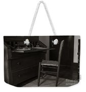 Writing Desk Weekender Tote Bag