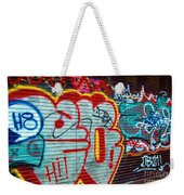 Writing On The Wall Weekender Tote Bag
