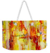 Written In Particles And Waves Weekender Tote Bag