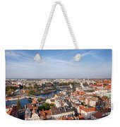 Wroclaw Cityscape In Poland Weekender Tote Bag
