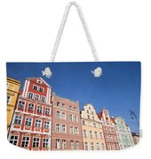 Wroclaw Old Town Houses Weekender Tote Bag