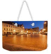 Wroclaw Old Town Market Square At Night Weekender Tote Bag