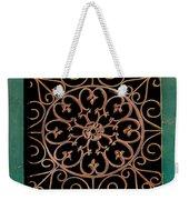 Wrought Iron Circle Weekender Tote Bag