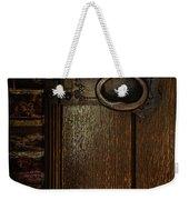 Wrought Iron Door Latch Weekender Tote Bag