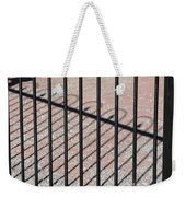 Wrought-iron Gate And Shadows Weekender Tote Bag
