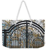 Wrought Iron Gate Weekender Tote Bag
