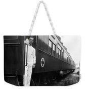 Ww I: Red Cross Railroad Weekender Tote Bag
