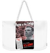 Ww2 Army Recruiting Poster Weekender Tote Bag