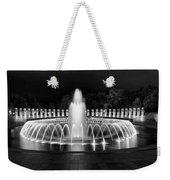 Ww2 Memorial Fountain Weekender Tote Bag