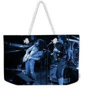 Ww#7 Enhanced In Blue Weekender Tote Bag