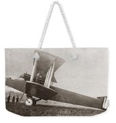 Wwi: British Bomber Weekender Tote Bag