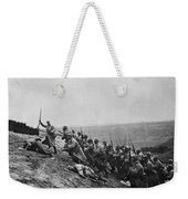 Wwi: French Attack Weekender Tote Bag