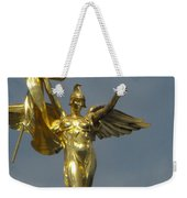 Wwi Gold Winged Victory Statue Weekender Tote Bag