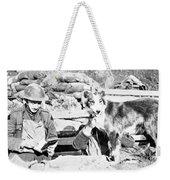 Wwi, Nell British Messenger Dog Weekender Tote Bag