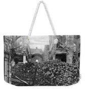 Wwi, Ruins Of Arras Cathedral Weekender Tote Bag