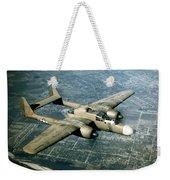 Wwii, Northrop P-61 Black Widow, 1940s Weekender Tote Bag