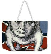 Wwii:churchill Poster 1942 Weekender Tote Bag