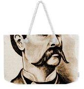 Wyatt Earp Weekender Tote Bag