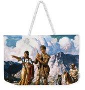 Wyeth: Sacajawea Weekender Tote Bag