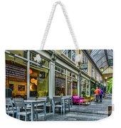 Wyndham Arcade Cafe 3 Weekender Tote Bag