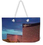 Wynn And Encore In Las Vegas Weekender Tote Bag